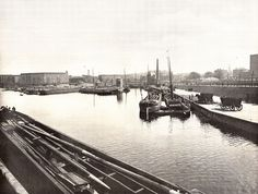 Berlin, Urbanhafen um 1900 by drggkkrueger, via Flickr