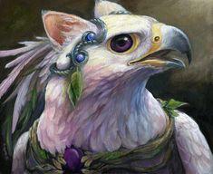 Sylba par Brenda Lyons - Falcon Lune studio