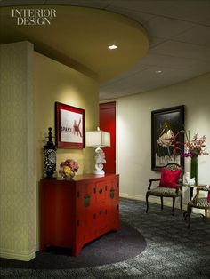 Boudoir sumptiousness (Spanx office - imagine working there?) My dream job, Sara!!