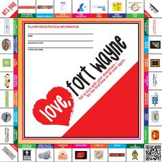 """Love Fort Wayne City Tour""  a Leadership Fort Wayne (Class of 2013) project"