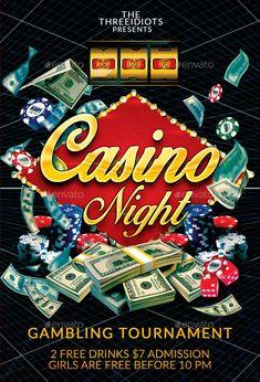 Future Casino Night | Casino Infographics
