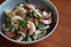Recept Thaise komkommersalade met garnalen – Salades & zo