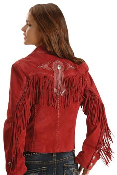 Scully Fringed Suede Leather Jacket available at Love it! Too bad this don't come in size fat ass. Cute Country Outfits, Western Outfits, Western Wear, Western Style, Western Boots, Country Girls, Light Denim, Suede Leather Jacket, Leather Bags