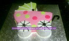 Celebra una original fiesta de baby shower con nuestras Ideas para la decoración de una linda torta o pastel de Baby Shower!