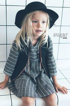 Lizette from Sugar Kids for ZARA BABY fw16.