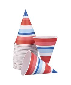 Patriotic Snowcone Papers from Crate & Barrel