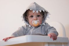 Shark Hoodie Tutorial from see kate sew. This is just the cutest idea for a baby gift. (And great to have on file for Halloween!)