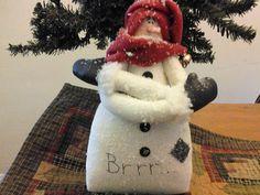 WCCOFG Handmade Cristmas Winter Snowman Decor by PatchworkFriends, $15.00