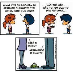#reflexão #humor #quadrinhos #comic #tirinhas #instahumor #armandinho #self #boanoite #chuva #rain #frio #goodnight Cool Cartoons, Cartoon Fun, Some Quotes, Powerful Words, Just For Laughs, Comic Strips, Nerdy, To My Daughter, Geek Stuff
