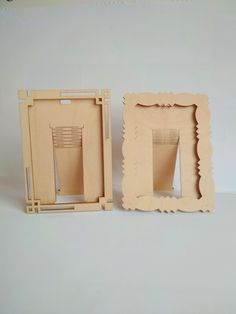 Laser Cutter Ideas, Laser Cutter Projects, Laser Cut Box, Laser Cutting, Two Photo Frame, Cnc Router Plans, Best Router, Make Photo, Photo Displays