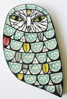 Owl H:32cm W:18cm