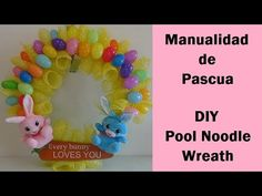 Discover recipes, home ideas, style inspiration and other ideas to try. Pool Noodle Christmas Wreath, Pool Noodle Wreath, Pool Noodle Crafts, Christmas Ornament Wreath, Homemade Christmas Decorations, Christmas Wreaths To Make, Valentine Day Wreaths, Diy Spring Wreath, Dollar Store Christmas
