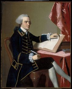 Portrait of John Hancock (1737-1793), 1765, by John Singleton Copley Museum of Fine Arts, Boston