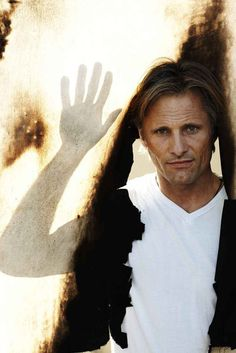 Viggo Mortensen- so cool. Loved him in a 'history of violence' and 'the road' and of course LORs