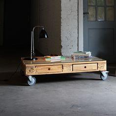 Couchtisch - Kiefer - alt_image_three Pallet Furniture, Furniture Making, Furniture Design, Coffee Table Grey, Pallet Designs, Wood Pallets, Feng Shui, Decoration, Home Decor