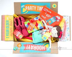 Birthday Package Printables- from The Dating Divas!  Such a fun idea to make it more special.