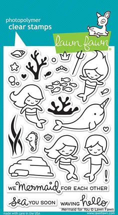 LAWN FAWN: Mermaid For You (4\