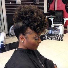 43 Black Wedding Hairstyles For Black Women. There are so many options for wedding hairstyles for black women. Black Wedding Hairstyles, Cute Hairstyles, Hairstyles 2018, Straight Hairstyles, Gorgeous Hairstyles, Braided Hairstyles, Relaxed Hairstyles, African American Updo Hairstyles, Hairstyle Ideas