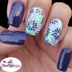 LAVENDER & MINT FLORAL MIX WITH SWIRLS