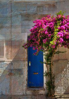 Colonia, Uruguay Blue Door - nice light