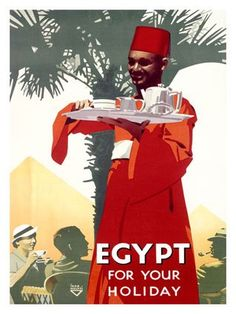 Egypt : For Your Holiday    A vintage tourism Ad from Egypt