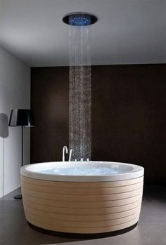 A tub perfect for birthing.. If only I was planning to have more babies! lols