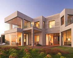 Contemporary Exterior of Home - Found on Zillow Digs