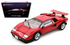 Kyosho 1/18 Lamborghini Countach LP500S WW - Red