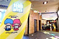 【2014】★Little Twin Stars Pop-up Cafe ★100 Bites Cafe @ Langham Place Hong Kong ★ #LittleTwinStars