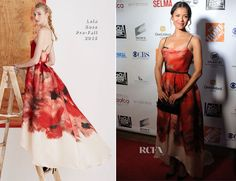 Gugu Mbatha-Raw In Lela Rose – 6th Annual AAFCA Awards