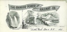 Rainier Power and Railway Co., 1891