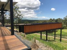 Noosa Hinterland - Custom Designed Home with Container Pool Above Ground Pool, In Ground Pools, Shipping Container Pool, Shipping Containers, Swiming Pool, Swimming, Container House Design, Container Homes, Diy Pool