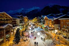 A Ski Resort for the more intermediate and advanced skiers