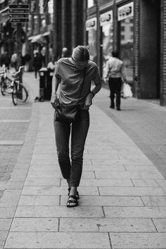 tifmys – Envii shirt and jeans, Céline Trio bag & Birkenstock Arizona sandals.