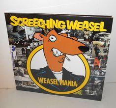SCREECHING WEASEL weaselmania DOUBLE Lp SEALED Vinyl x2 Record , 34 songs #PunkNewWave