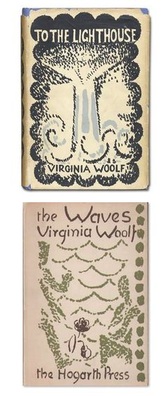 Vanessa Bell's designs for the Hogarth Press book jackets