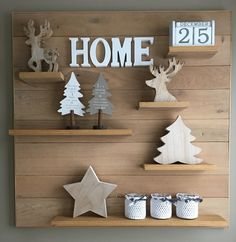 Wooden rustic Christmas decor Make as a calendar (mo/dd/yr) Wooden Christmas Crafts, Christmas Mom, Christmas Signs, Rustic Christmas, Christmas Projects, All Things Christmas, Christmas Decorations, Christmas Ornaments, Holiday Decor