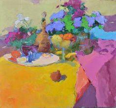 "Saatchi Art Artist Shandor Alexander; Painting, ""dining Symphony"" #art"