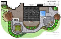The ultimate back yard.  Custom deck, covered porch, and patio design complete with a hot tub, bar area, and beautiful landscaping.