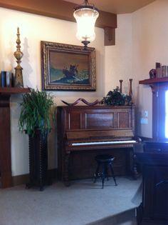 Piano in chapel