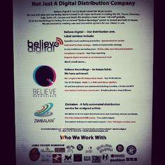Brilliant coverage for Believe Digital in Music Week News 14/06