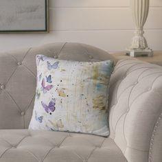 "August Grove Abner Indoor/Outdoor Throw Pillow Size: 18"" H x 18"" W x 8"" D"