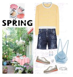 """""""Spring Thing"""" by musicfriend1 on Polyvore featuring Miu Miu, Dsquared2, Carvela, MANU Atelier and David Yurman"""