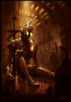 Steampunk Artwork and gadgets
