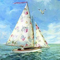 floral sails