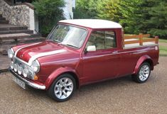 1969 Mini Cooper S pickup ... Wut... They made a pickup... Cool...