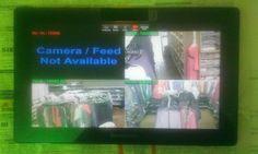 2012/2013 Kunde Videoüberwachungs Installation Videoüberwachung via TABLET