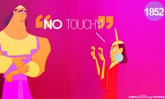 No touchy!