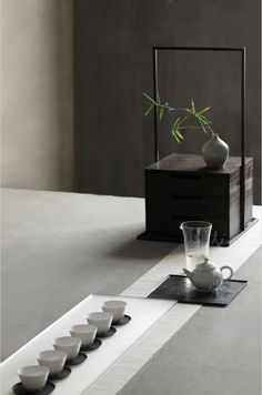Tea ceremony. Ultimate in Zen.