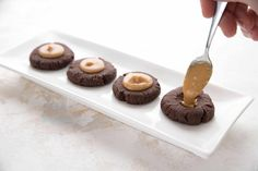 Low Carb Inside Out Peanut Butter Blossoms